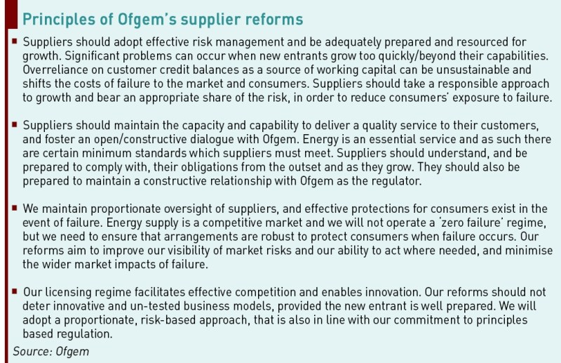 new entrant suppliers