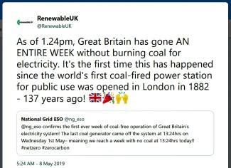 coal free days