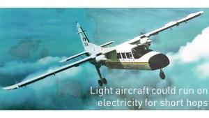 electric light aircraft