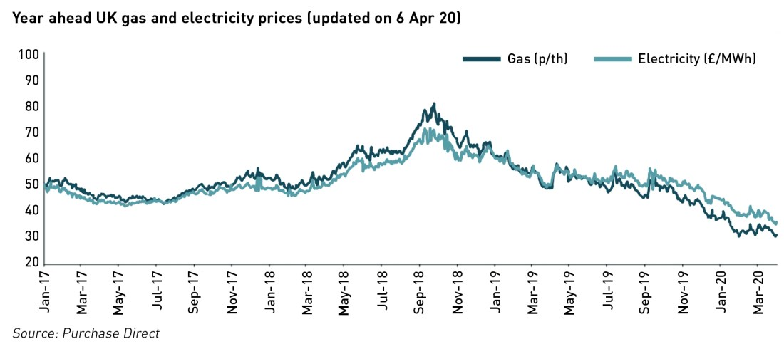 energy prices during covid-19