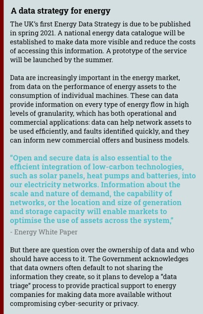 energy data strategy