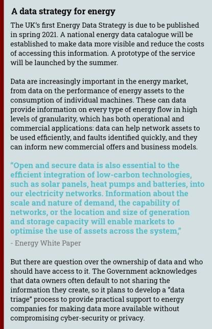 energy data strategy