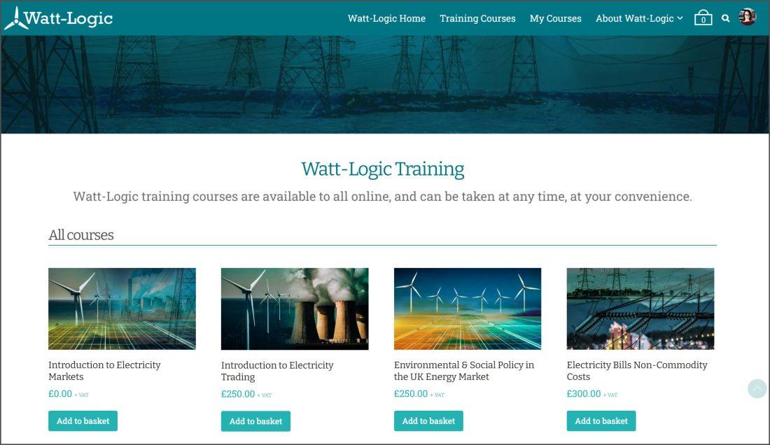Watt-Logic training