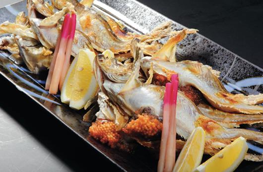 อาหารจากปลาแซนด์ฟิชญี่ปุ่น