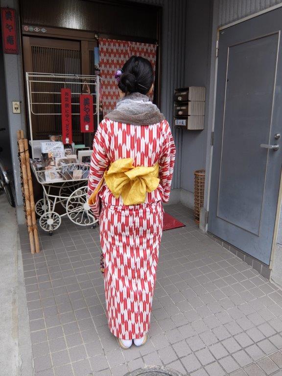 15 kimono in the winter