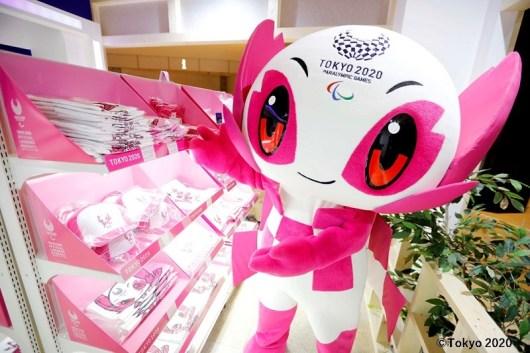 2020東京帕運吉祥物「SOMEITY」
