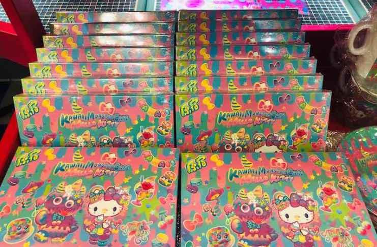 Mr.Choppy和Hello Kitty跨界合作的餅乾