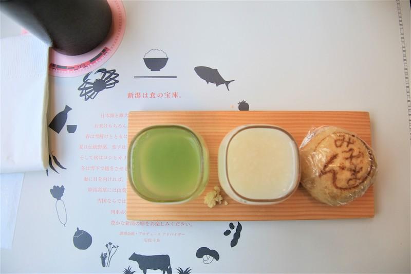 飯後甜點則有寒天、甘酒和搭配季節的日式點心