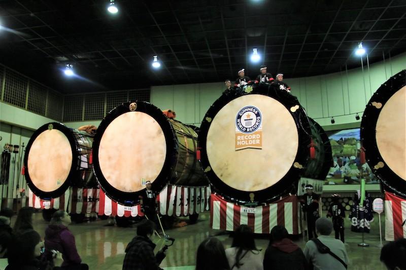 大太鼓是當地每年舉辦「綴子大太鼓祭」時使用的太鼓,後來漸漸變得越來越大