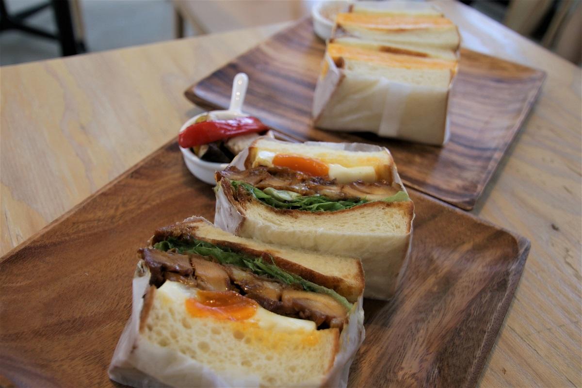 各式各樣的三明治