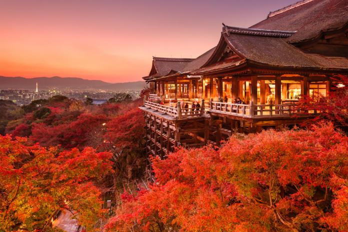 Kiyamizu-dera Autumn Season - 2