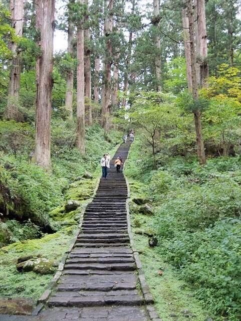 The Ishi-Dan, Mt. Haguro