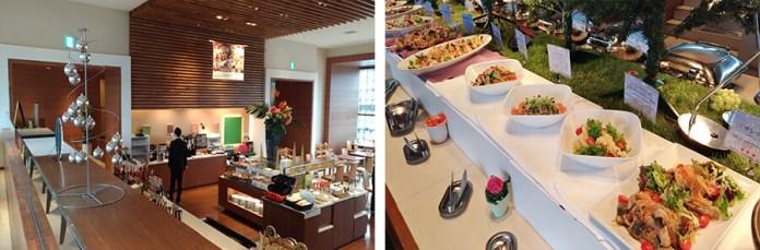 Buffet at Highland Resort Hotel and Spa