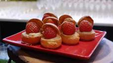 strawberry-cream-puffs