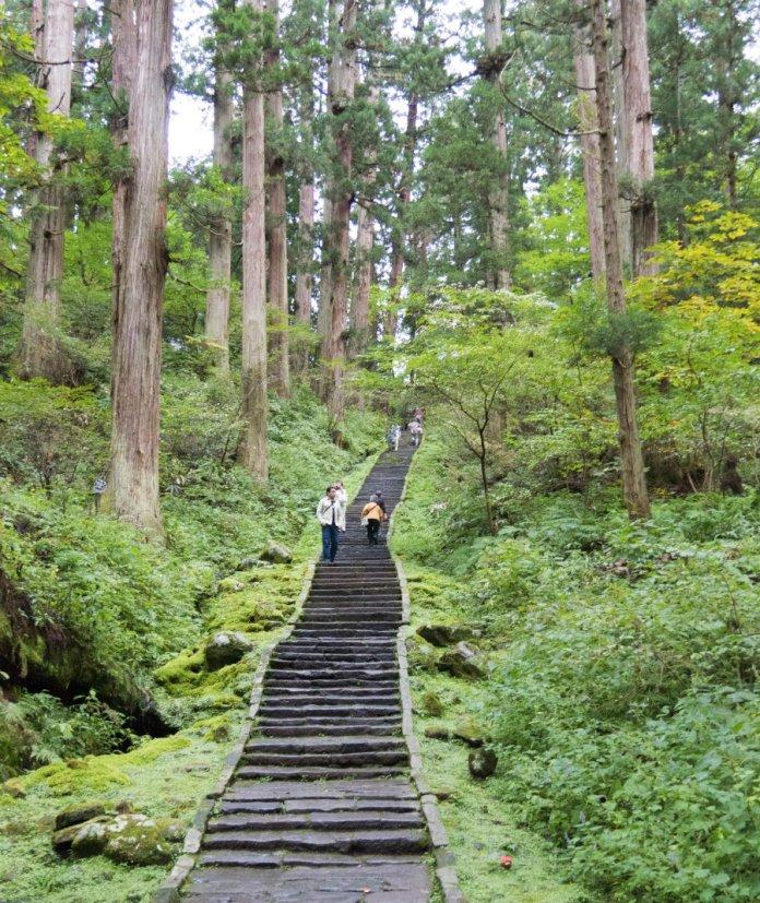Mount Haguro path