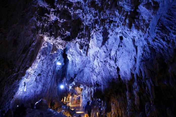 dragon blue caves ryusendo