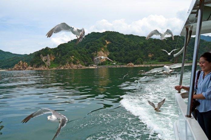 sasagawa nagare boat ride