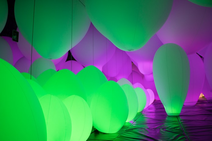 teamLab Borderless Athletics Forest