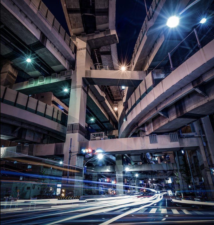 Hakozaki Junction © Taiki Himeno Follow the photographer at https://www.instagram.com/lol_hime/