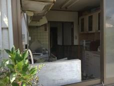 Abandon buildings near JR Namie Station 02