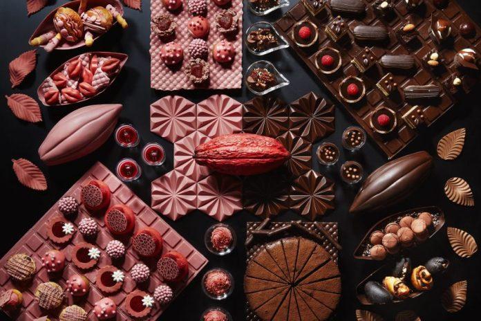 Ana Intercontinental Hotel chocolate
