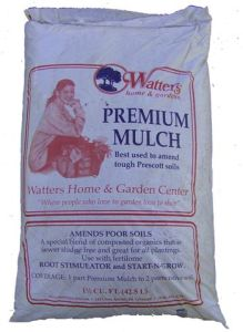 Mulch single bag