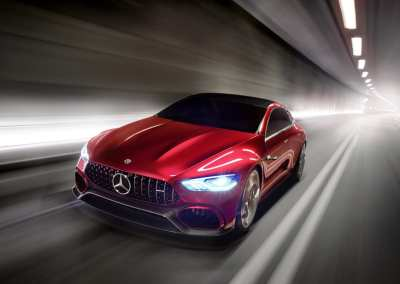 Mercedes Benz AMG GT Concept Electric Vehicle