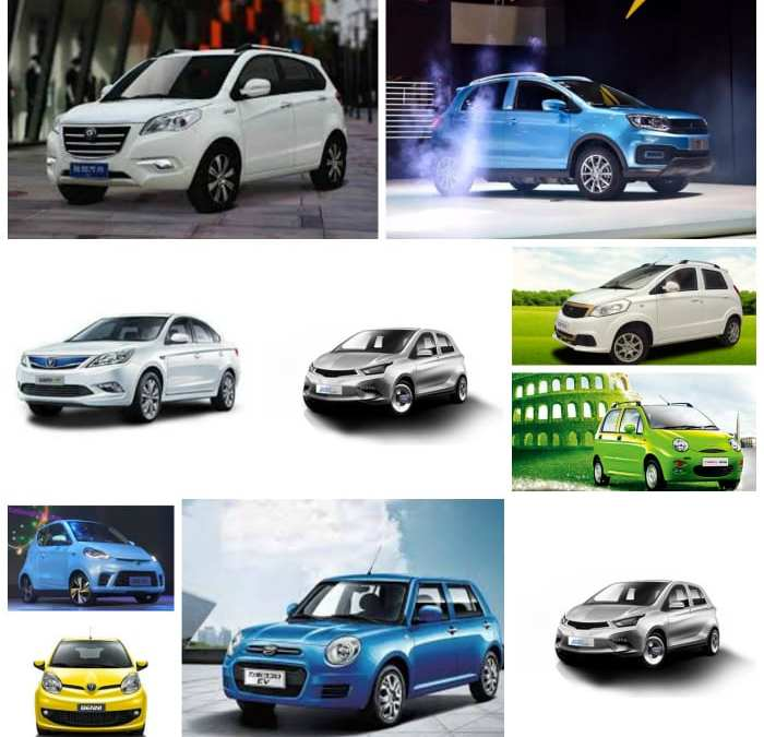 China has only 14 legal EV brands, most as ugly as…