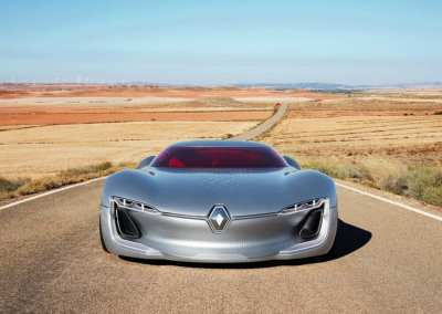 Renault Trezor Concept electric vehicle