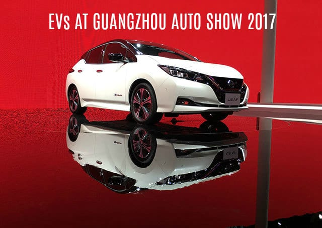 Chinese electric cars spotted at the 2017 Guangzhou Auto Show