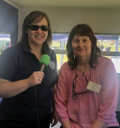 Julianne and Sharon Cox, Show voluinteer and WR Councilor