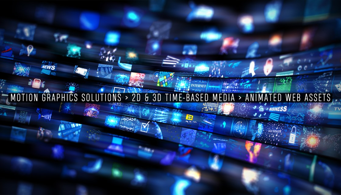 Motion Graphics Solutions - Graphic Design - Virtual Tours