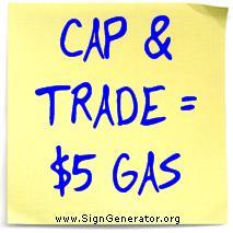 Cap & Trade = $5 Gas