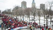 Quebec City Climate Protest
