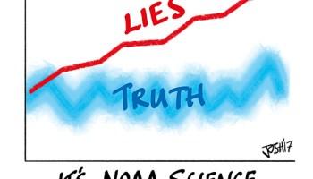 BOMBSHELL – NOAA whistleblower says Karl et al