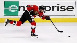 Breaking hockey sticks