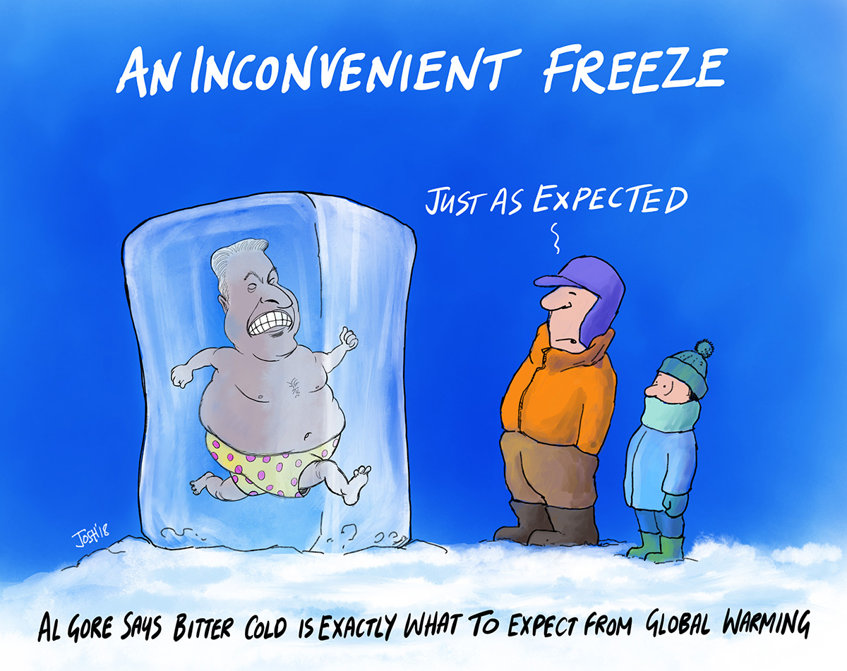 Al Gore's 'Inconvenient Freeze' | Watts Up With That?