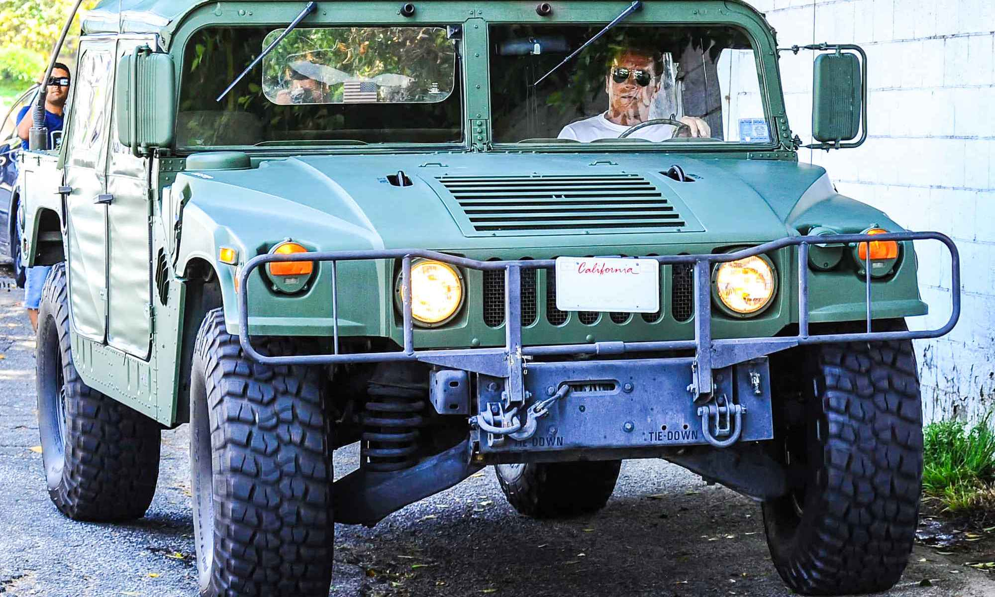 arnold schwarzenegger planning to sue oil companies to force climate Hummer Wit.htm #21