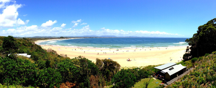 Bryon Bay, NSW from Cape Byron State Conservation Park