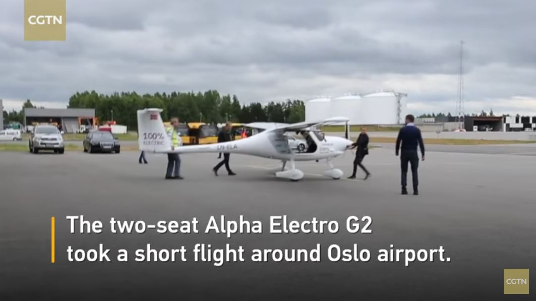 Pipe dream: Norway wants electric airplanes to provide