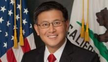 Official State Treasurer Portrait of John Chiang