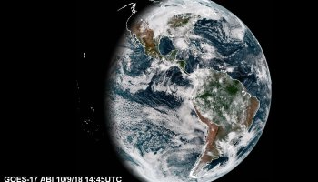 Despite cooling problems NOAA GOES17 is producing good