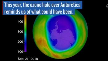 Earth's 'ozone hole' shrinks to lowest since 1988 | Watts Up With That?