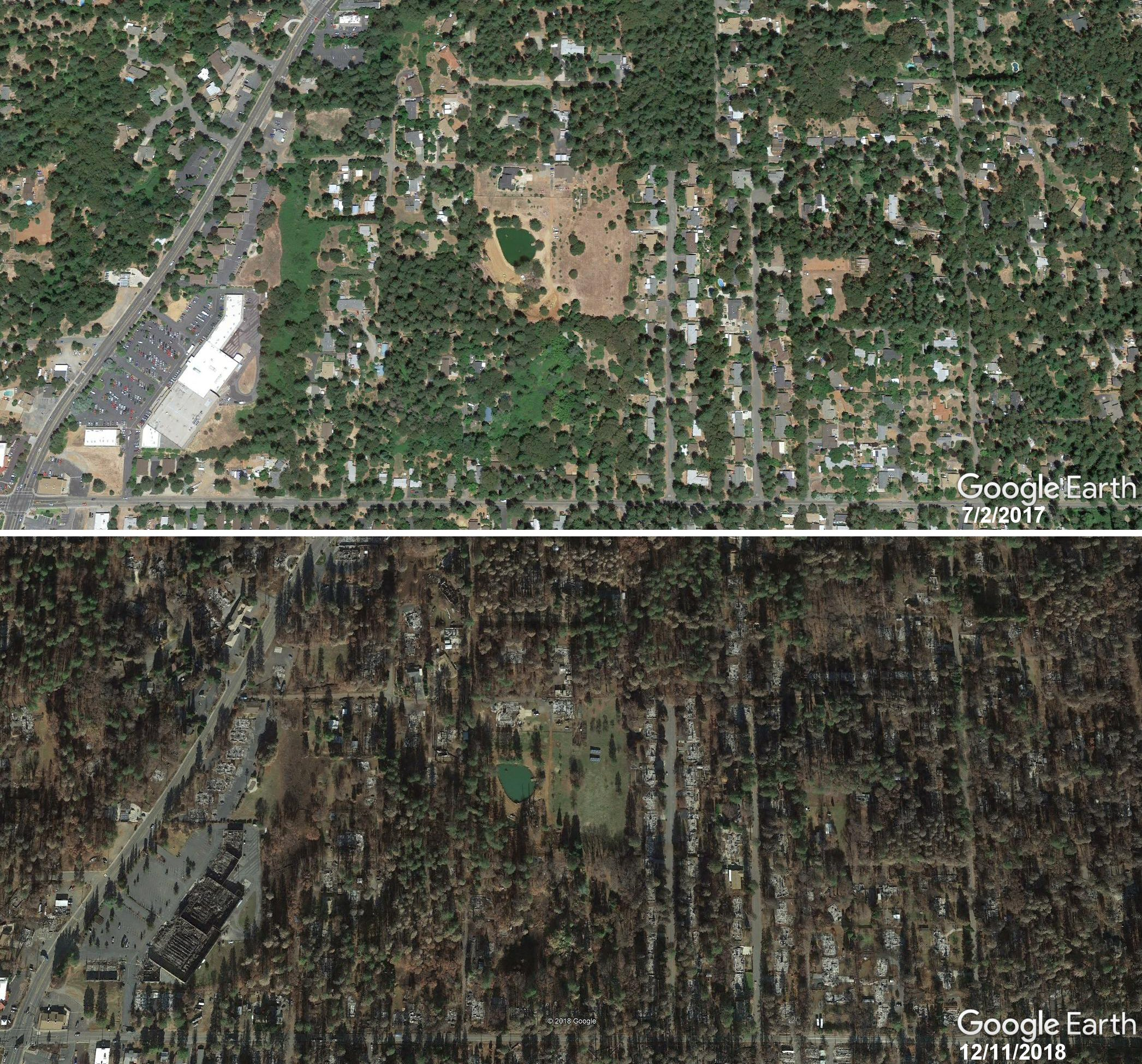 Google Earth updates Paradise imagery post #Campfire – the