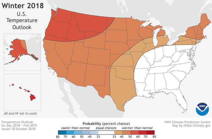 NOAA 2018-19 Winter Outlook: Another Mild Winter   Watts Up
