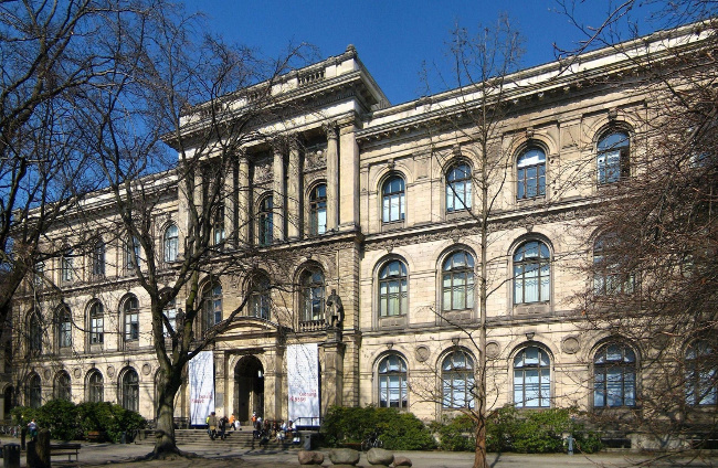 The Museum of Natural History at Invalidenstraße No. 43 in Berlin-Mitte