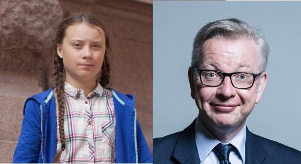 Greta Thunberg Michael Gove