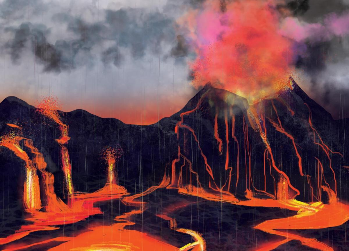 New evidence suggests volcanoes caused biggest mass