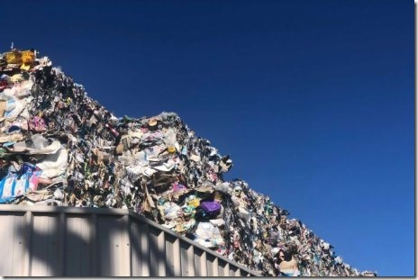 Plastic recycling piles up in Hobart as councils urged to drop service fees