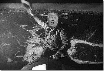 Trump-riding-bomb